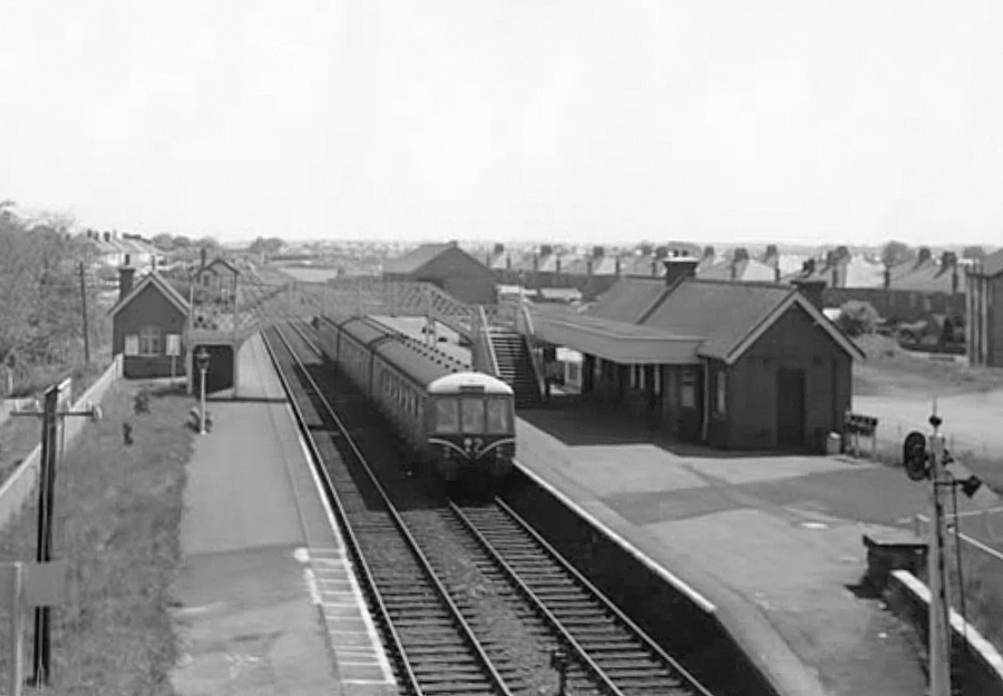 Whitchurch Station in 1958